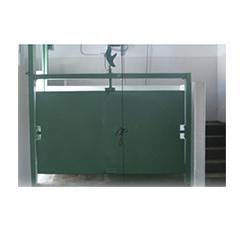 Cajón de Noqueo con Puerta Giratoria