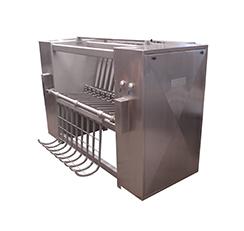 Peladora de Cerdos – Capacidad 120 animales/hs